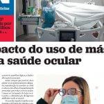 Jornal de Notícias – O impacto do uso de máscara na sua saúde ocular